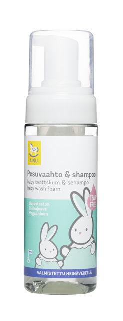 Ainu Pesuvaahto & Shampoo